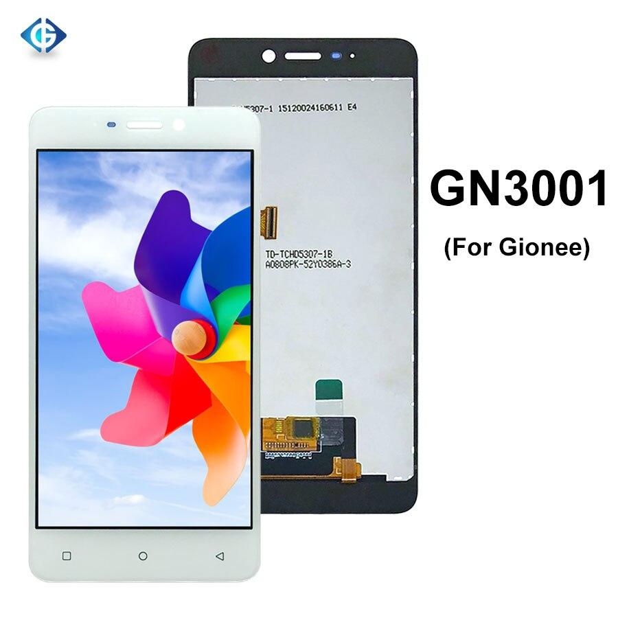 5,3 Lcd completo para Gionee S5 GN3001 3001 LCD pantalla MONTAJE DE digitalizador con pantalla táctil para Gionee GN3001 pantalla piezas de reparación