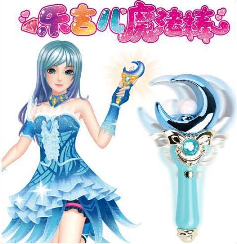 Anime nuevo Cosplay Sailor Moon Tsukino Usagi varita mágica Glow Stick Luna ESTRELLA DE Sakura CardCaptor mágico varita juguetes #698