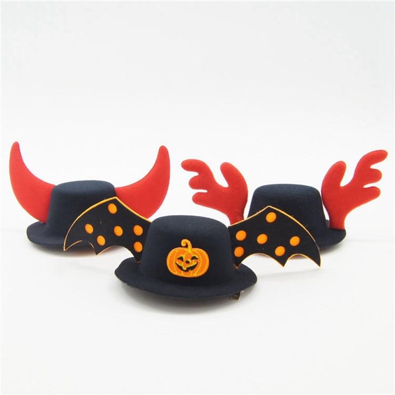Halloween mascotas Cosplay traje divertido sombreros para perros y gatos lindo fiesta suministros Perro accesorios para perros pequeños Casco Perro