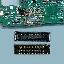 2 pcs/lot connecteur daffichage sur la carte pour Huawei POT-LX1 34pin