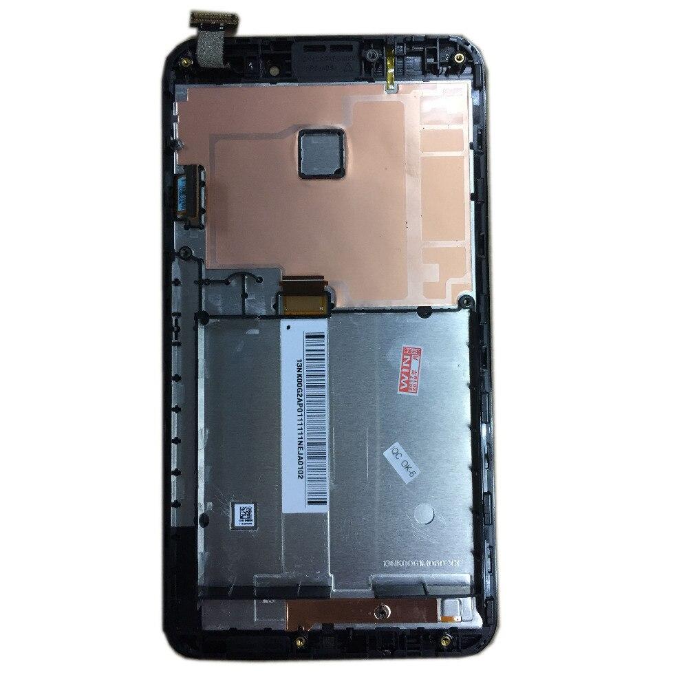 Para Asus Fonepad Note 6 FHD6 ME560CG ME560 K00G con marco negro Color LCD pantalla táctil digitalizador montaje