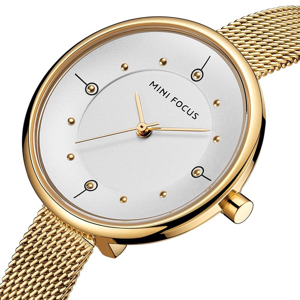 Reloj de mujer 2019 nuevo listado de relojes de oro de moda de marca superior de lujo resistente al agua para mujer regalo de chica reloj de cuarzo Whatch Waches