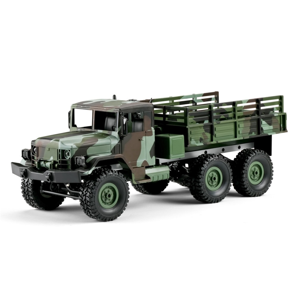 1/16 2.4G 6WD RTR RC Car LED Light Camouflage Military Off-road Truck Kids Toy climbing remote control camouflage military truck enlarge