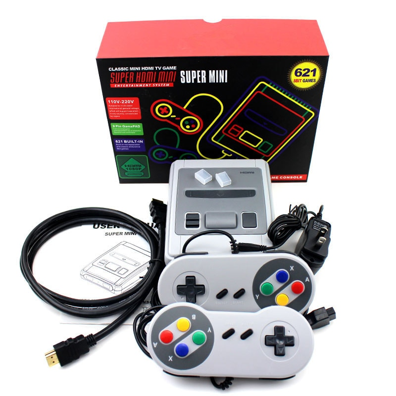 620/621 Games Childhood Retro Mini Classic 4K TV AV/HD 8 Video Game Console Handheld Gaming Player Christmas Gift