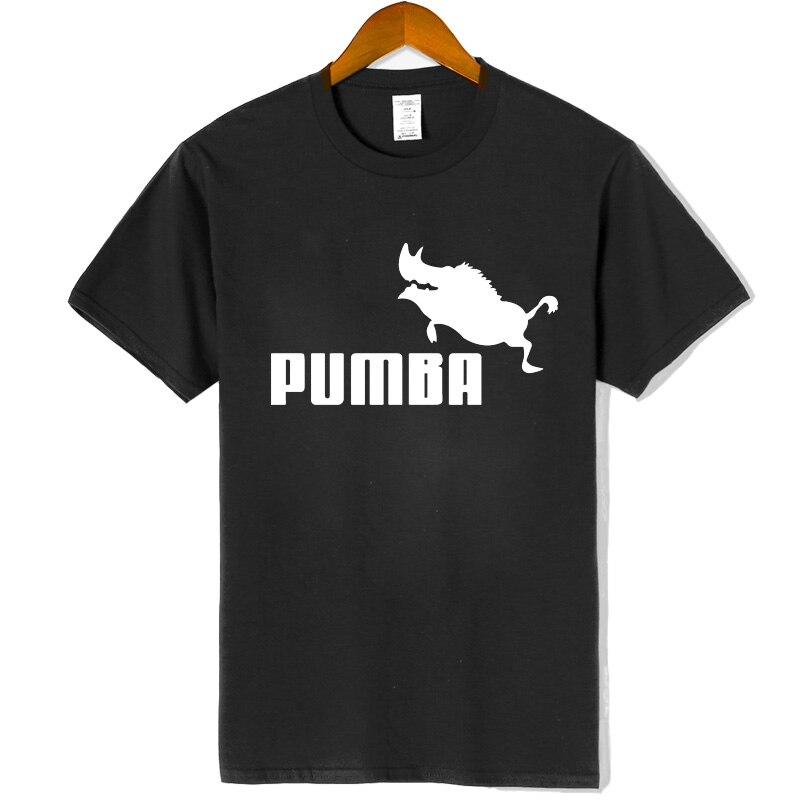 Women New brand t shirts Pumba print women short sleeves t shirt 100% cotton girl summer casual t shirt plus fashion