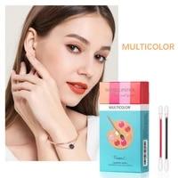 20pcsset new hot lipstick cigarette case cotton swab lipsticks long lasting waterproof case lip glaze cosmetics for women
