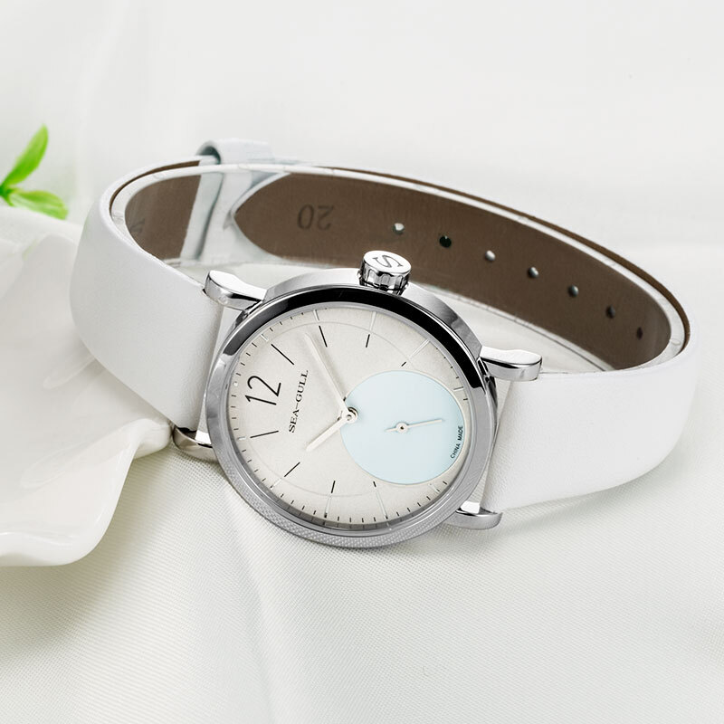 Seagull Ultra Thin 9MM Women's Lady's Manual Hand Wind Mechanical Fashion Watch 819.97.5009L enlarge