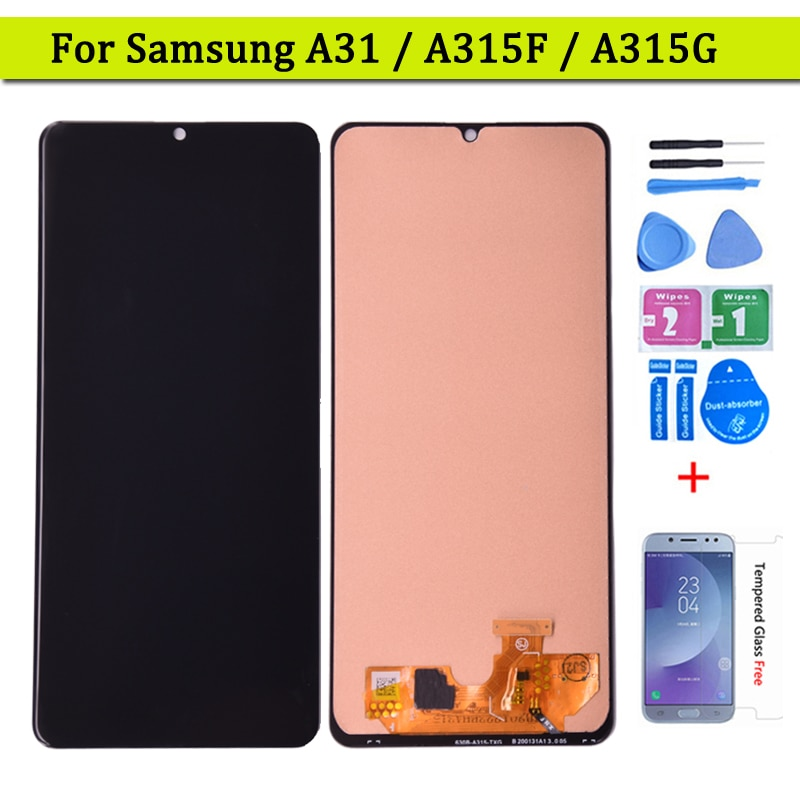 For Samsung Galaxy A315 LCD A315F/DS A315F Display A31 Touch Screen Digitizer For Samsung SM-A315F SM-A315F/DS Replacement Parts enlarge