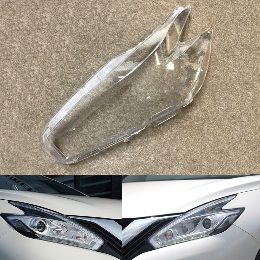 Car Headlamp Lens For Nissan Murano 2015 2016 2017 2018 2019 Headlight Cover Car Replacement Auto Shell