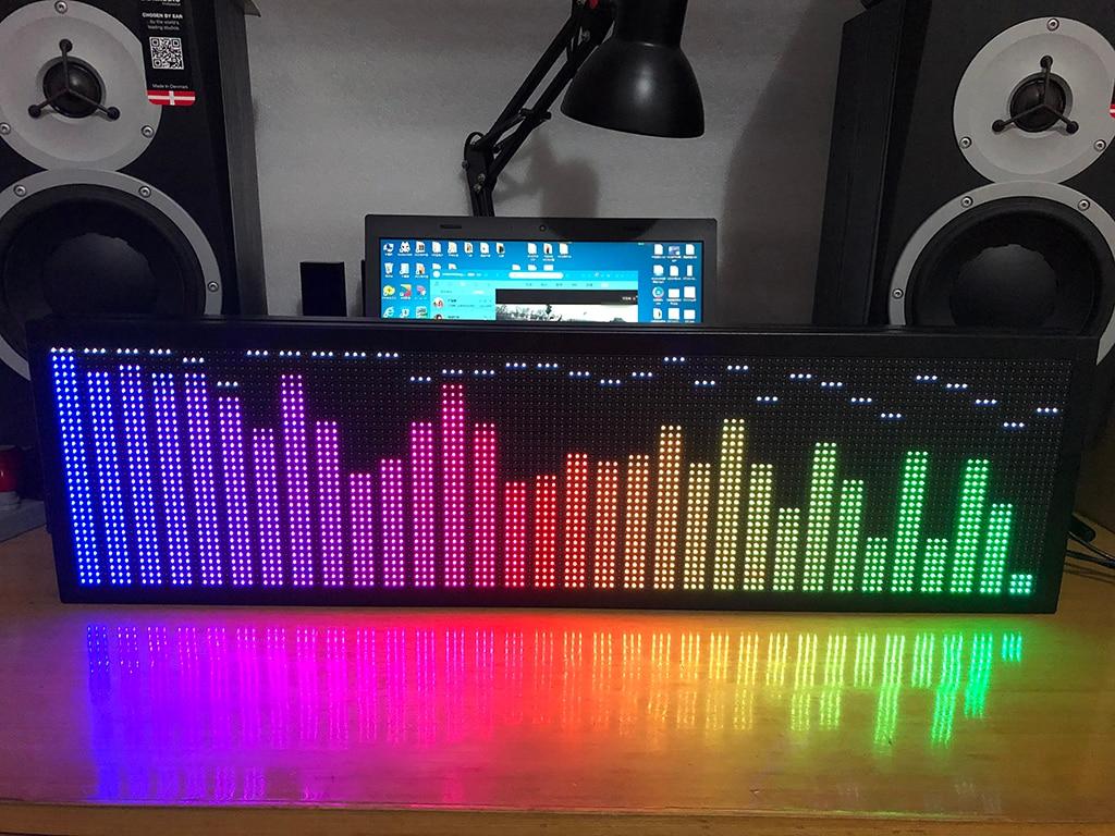 جديد P5 P2.5 المهنية كامل اللون rgbvoiceconremote tecontrol الموسيقى الطيف عرض KTV إيقاع ضوء 160 ديغريموديثشل