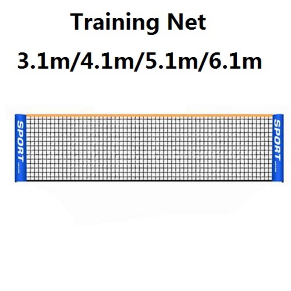 3.1/4.1/5.1/6.1m Professional Sport Training Standard Badminton Net Net Easy Setup Outdoor Tennis Mesh Net Exercise Volleyball