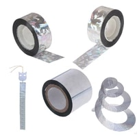 anti bird tape bird 708045m scare tape audible repellent fox pigeons repeller ribbon tapes for pest control