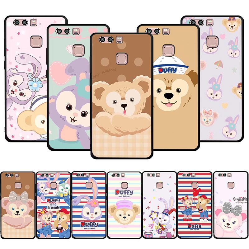 cartoon Duffy friends shelliemay bear Soft phone cover case for Huawei P9 P10 P20 P30 P40 Pro Lite P Smart Z Plus 2018 2019