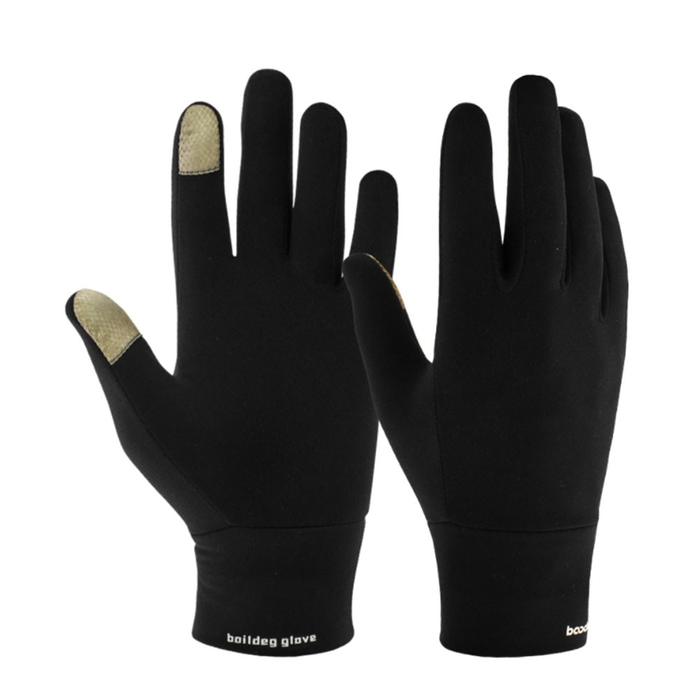Windproof Outdoor Sports Driving Running Hiking Gloves Winter Mittens Bicycle Bike Cycling Gloves Fo