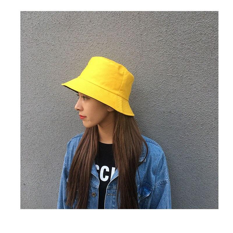 Chapéu tipo bucket hat, chapéu verão 2020 coreano de bob