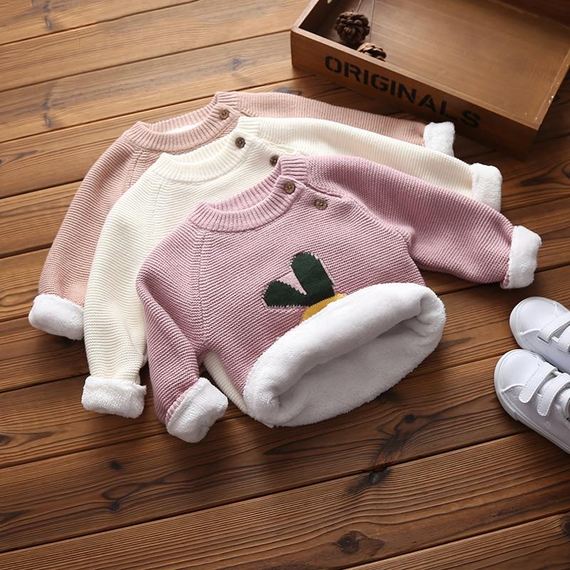 ienens bebe meninos meninas camisolas quentes roupas da crianca infantil camisola