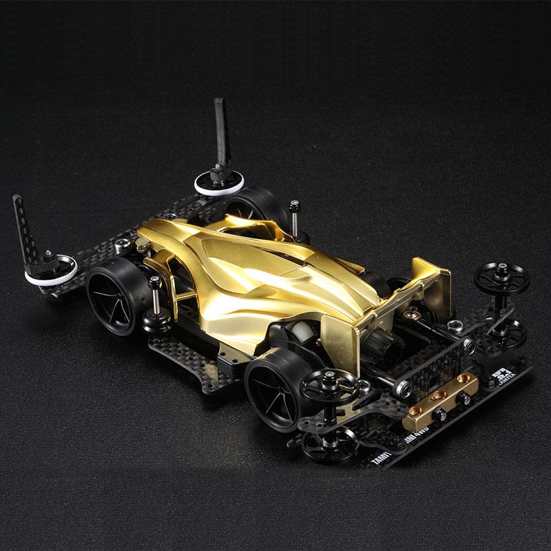 DIY ensamblar cuatro unidades 95267 AR chasis dorado galvanoplastia Avatar modelo Kit