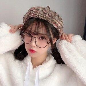 wool Women Beret Autumn spring Octagonal Cap Hats Stylish Artist Newsboy Caps Boina para mujer sombreros Beret pour femme Bonnet