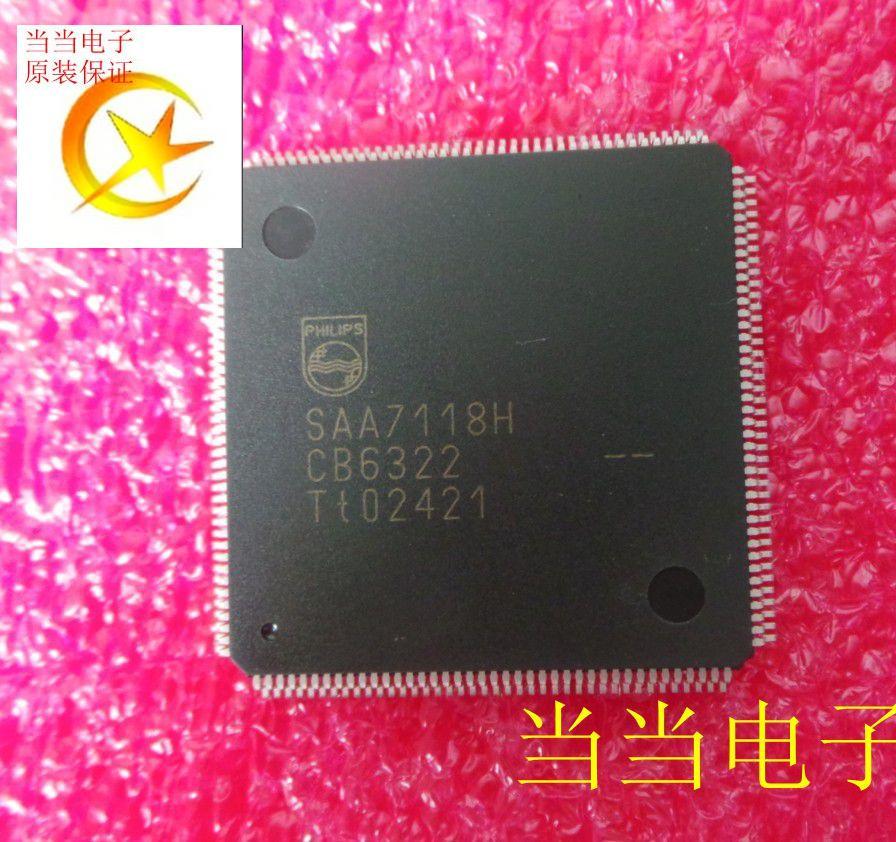 100% Novo & original SAA7118H QFP160