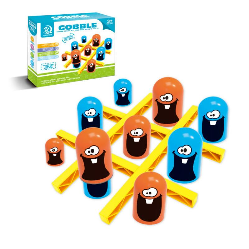 1 pcs new arrival hot sale connect four in a row 4 in a line board game kids children fun educational plastic challenging toy Dropshipping Educational Toys Plastic Kids/Baby Intellectual Gobble Board Game Three in a Row Children Toy Kids Birthday Gifts