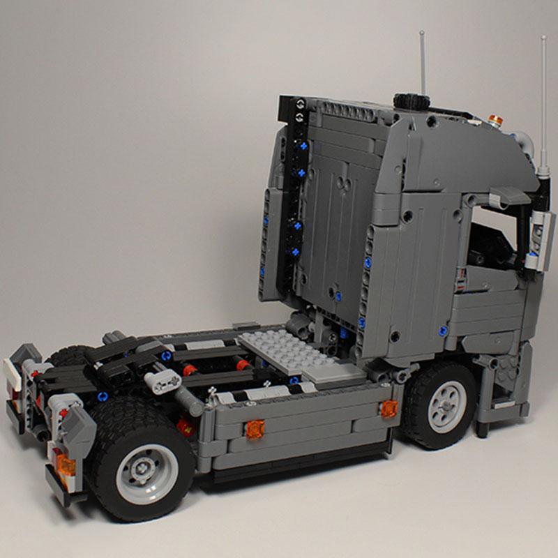 1073 قطعة MOC الهندسة FH جرار وحدة اللبنات نموذج سيارة سيارة الطوب مجموعة التعليمية DIY بها بنفسك لعب للأطفال الصبي الهدايا