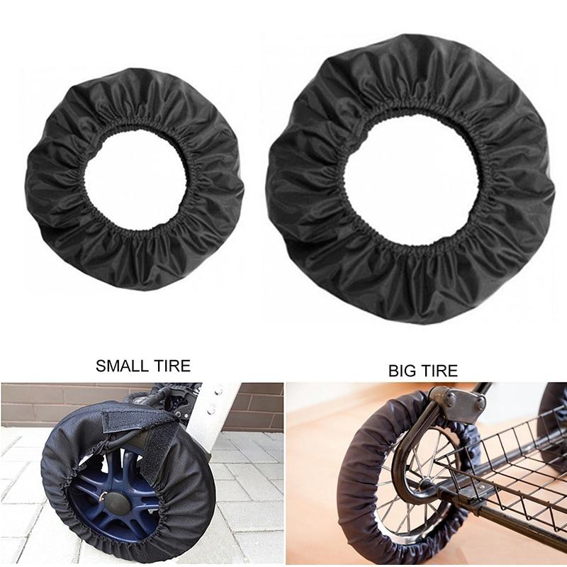 Baby Stroller Pram Wheel Cover Useful Baby Stroller Wheel Anti Dustproof Cover Anti Dirty Case Strol