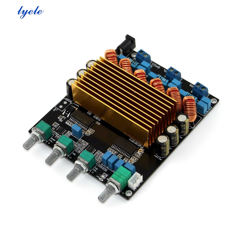 Placa de Amplificador de Potência de Áudio Placa de Amplificador de Potência 160w + 80 Canais Digital Sta508 80w 2.1
