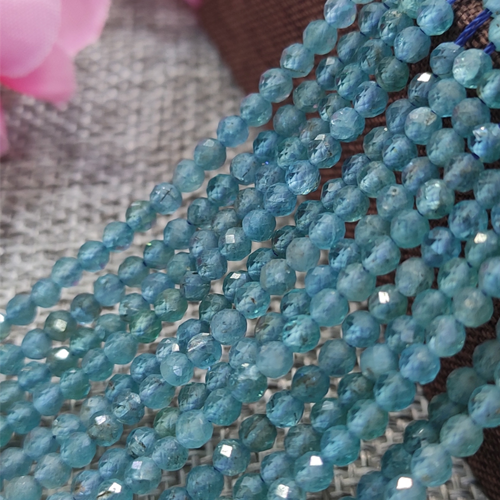 Wholesale Natural  Beads Faceted 2/3/4mm Small Tiny Crystal New DIY Beads For Jewelry Making Bracelet Necklace Free Shipping