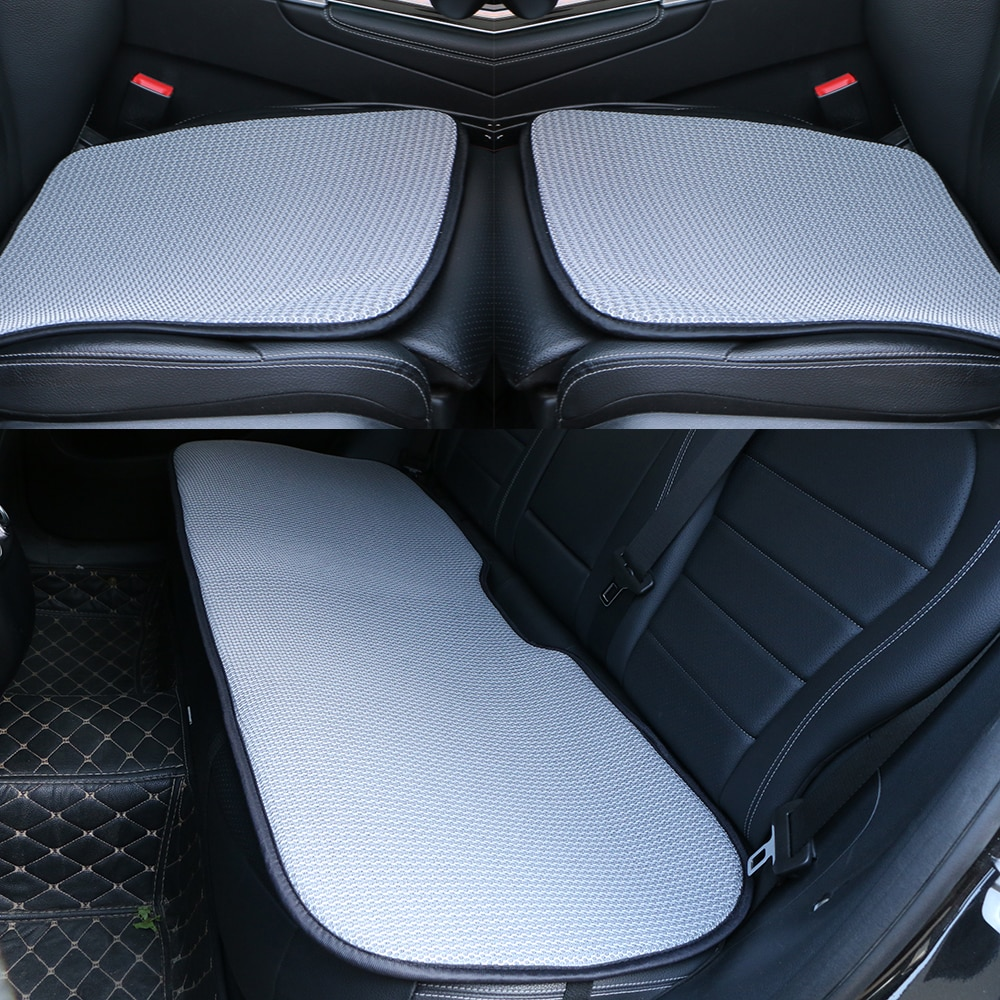 Funda de verano para asiento de coche, malla transpirable, capa para asiento de coche, protección para Interior de coche, cojín para silla oficina, fresco 1 unidad