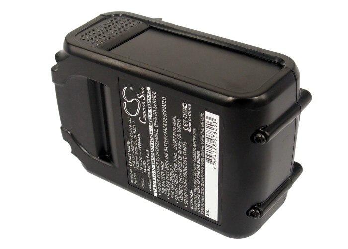 Cameron Sino batería para Dewalt XR Li-ion de 18V DCD740 DCD740B DCD780 DCD780B de DCB180 DCB181 DCB181-XJ 3000mAh