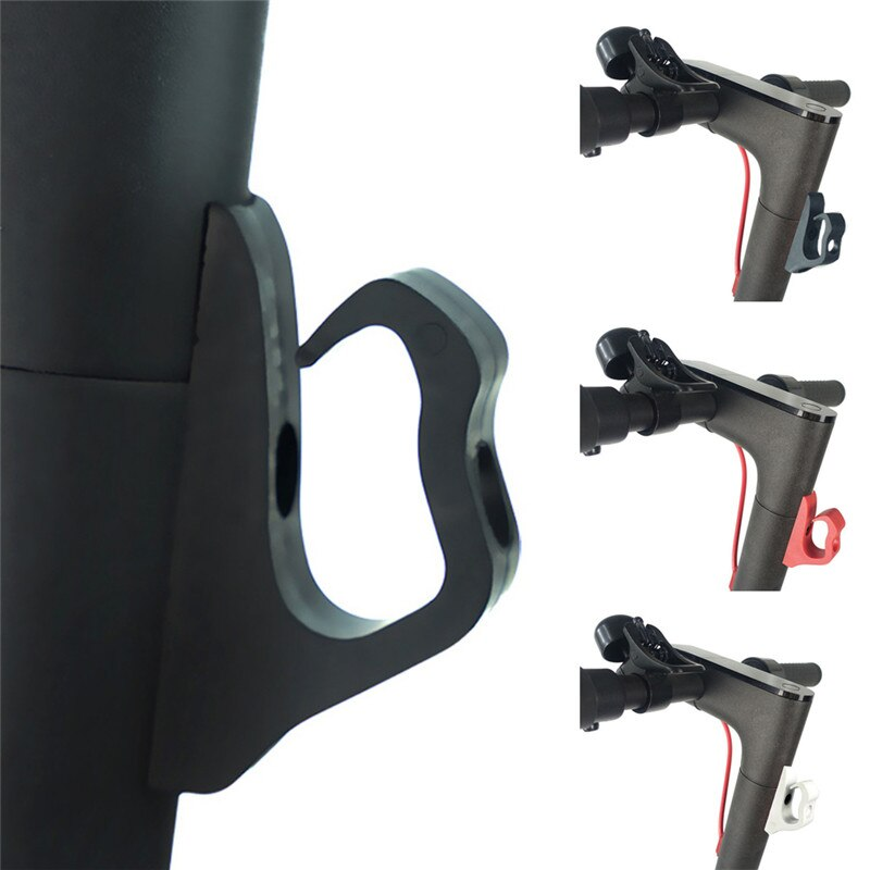Para xiaomi mijia m365 m365 pro scooter elétrico gancho frontal capacete sacos garra skate prático scooter ganchos