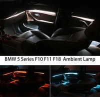 for bmw f10 f11 upgrade 3 colors interior led ambient atmosphere lamp light stripes