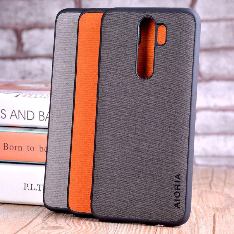 Чехол для xiaomi redmi note 8 pro, роскошный текстильный кожаный чехол, мягкий тпу жесткий чехол для телефона redmi note 8, чехол funda capa