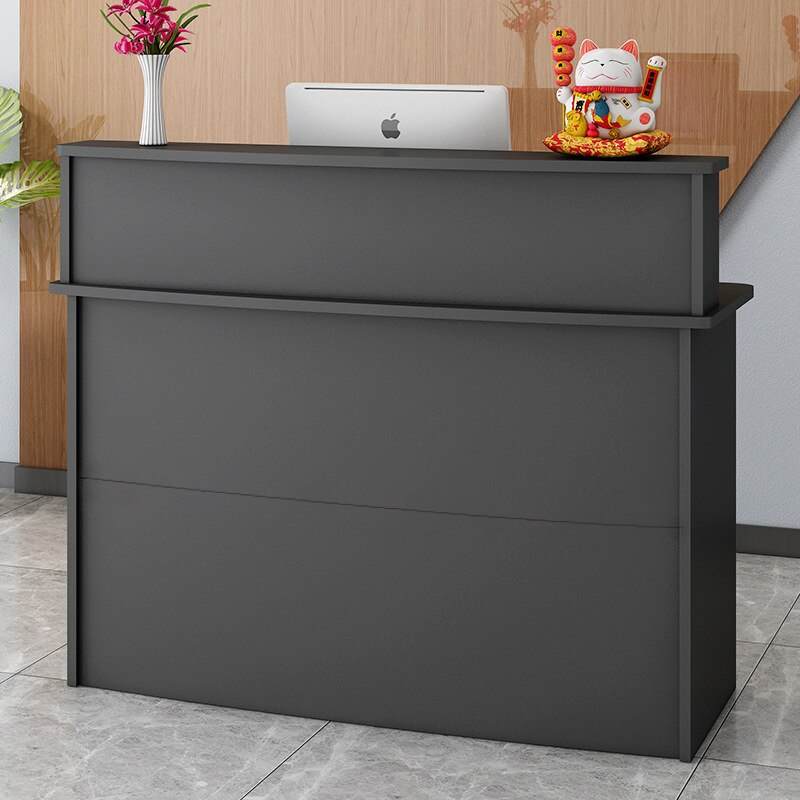 Cashier counter front counter small shop simple modern hotel barber clothing store commercial bar table reception desk pulpitos
