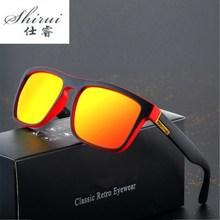 2019 Polarized Sunglasses Men's Driving Shades Male Sun Glasses For Men Retro Cheap Luxury Women Bra