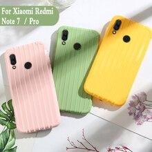 Bagage de luxe pour xiaomi redmi note 7 pro case mode mignon valise coffre en silicone couverture arrière pour xiaomi redmi note 7 Coque