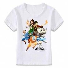 Unisex Kinder Kleidung T Shirt Avatar Die Last Airbender-fall T-shirt für Jungen und Mädchen Kleinkind Shirts T Druck Outfits
