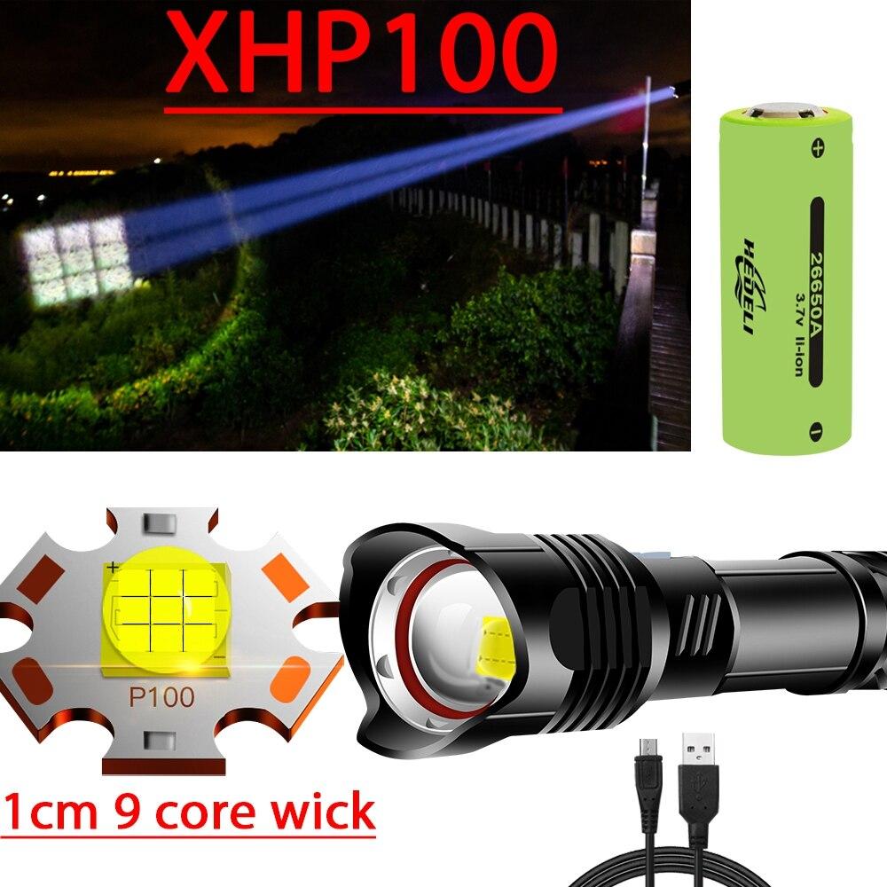 New 1cm Wick Xhp100 Powerful Led Flashlight Torch Xhp90 Tactical Flashlight Usb Rechargeable Flash Light 18650 Xhp70 Led Lantern