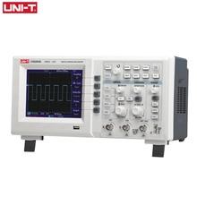 UNI-T Osciloscopio Digital USB UTD2202CEL de doble canal 200Mhz 1G, tasa de muestreo Sonda de alto voltaje PC LCD portátil Osciloscopio
