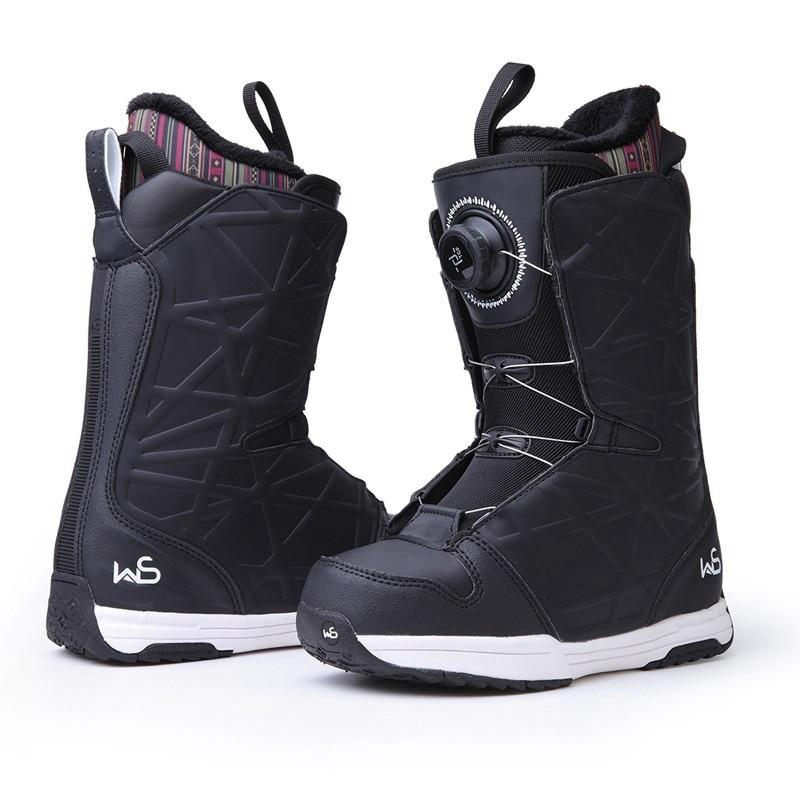 COPOZZ  Winter ski boots Professional Ski shoes Non-slip warm Breathable Leather snow shoes Skiing boots Ski Equipment Men Women