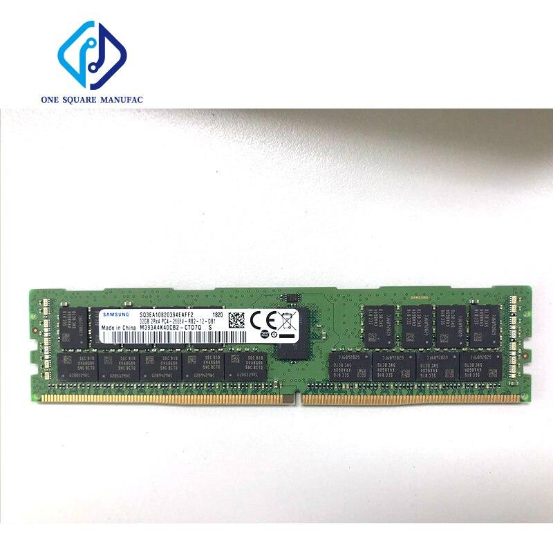 M393A4K40CB2-CTD7Q 32G 2RX4 2666V DDR4 ECC REG جديدة ومبتكرة