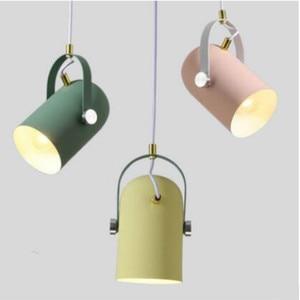 Nordic Minimalism Pendant Lights Luminaire Hanglamp droplights Dining Room bedside kitchen Home Lighting Decor    WJ42506