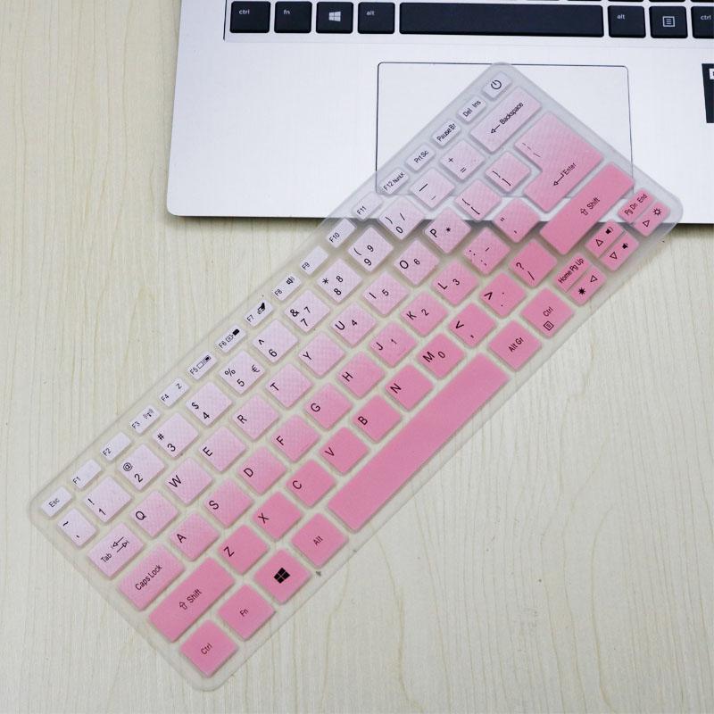 Silikon Tastatur Abdeckung Haut Protector Schutz Für Acer Swift 3 SF314-52 SF314-54/Swift 1 SF114-32 14 zoll i5 8250U notebook