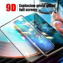 9D Abdeckung Fest Ausgeglichenes Glas Für Huawei Honor Ansicht 10 20 30 Pro Note 10 Screen Protector Für Honor X10 5G Spielen 3E 4T Pro