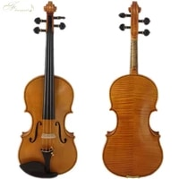 free shipping 44 violin copy guarneri del gesu cannon ii 1743 100 handmade oil varnish with foam case pernambuco bow fpvn05