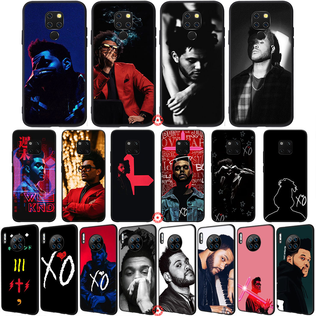Y77 The Weeknd Soft Silicone Phone Case for Huawei Mate 30 20 10 Lite Pro P10 Nova 2 Lite 2i
