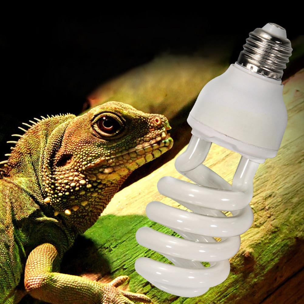 E27 5,0 10,0 UVB 13W lámpara para reptiles bombilla lámpara UV vivero de reptiles terrario tortuga serpiente bombilla de calentamiento de mascotas 220v-240