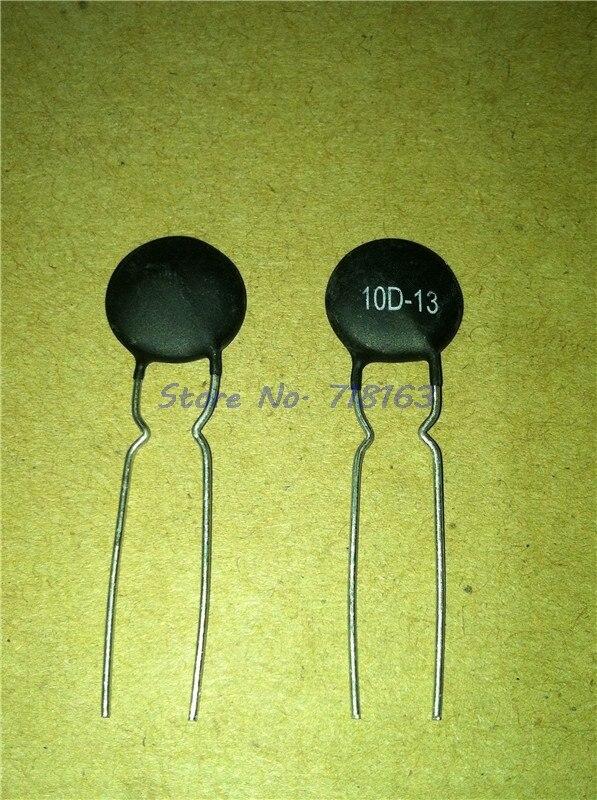 10 unids/lote resistencia de Termistor NTC 10D-13 resistencia térmica