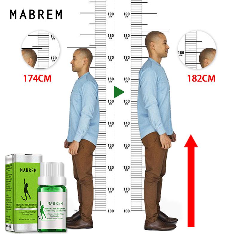 10ML Berühmte Marke Höhe Zunehmende Öl Medizin Körper Wachsen Größer Ätherisches Öl Fuß Gesundheit Pflege Produkte Promot Knochen Wachstum
