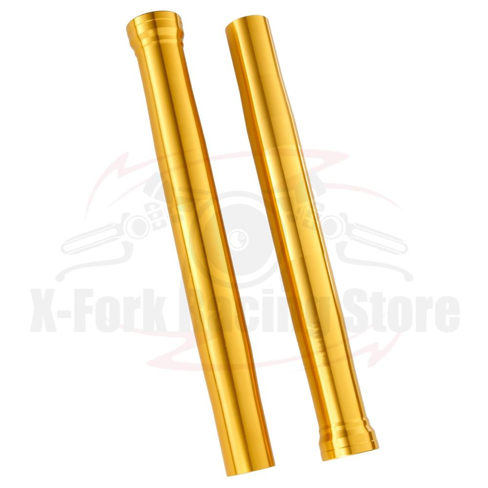 Tubos de horquilla externa de nueva calidad, tubos dorados, par de barras para YAMAHA R1 2002-2003 5 pw-23136-10-00